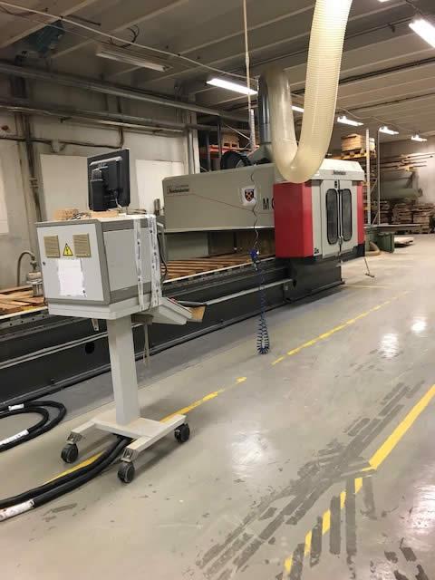 W Mega Używane maszyny CNC do schodów od Stolarzy JB84