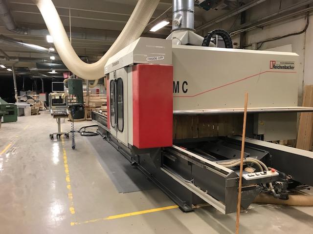 Modish Używane maszyny CNC do schodów od Stolarzy ZM36